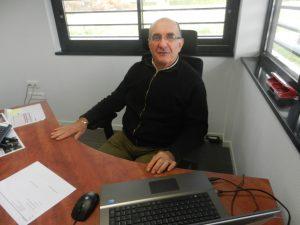 Mr BLANC vice president chargé de la restauration scolaire