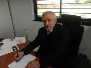 Mr Pacher Vice president chargé des equipements communautaire et achats publics